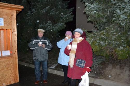 Rozsvícení vánočního stromu 2012