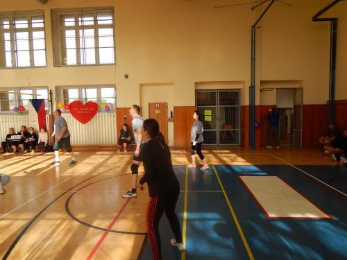 Valentýnský volejbalový turnaj